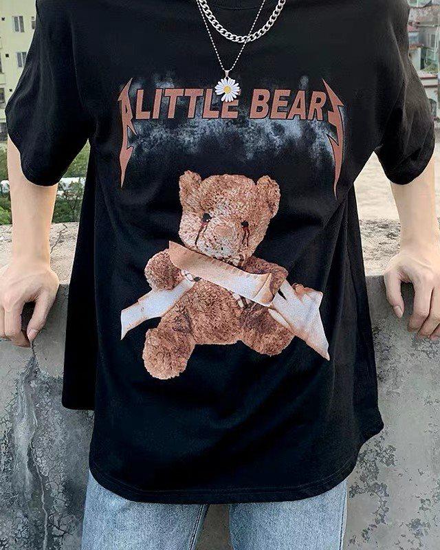 《2色》A LITTLE KILL BEAR クマTシャツの画像2